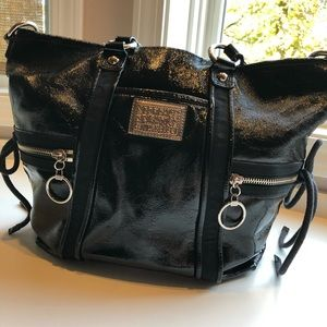 Gently used Patent leather Coach bag